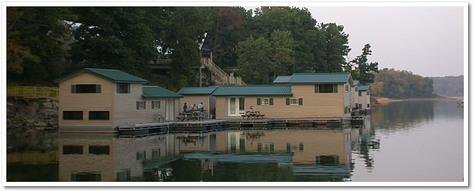 Patoka Lake Floating Cabins French Lick West Baden Stay