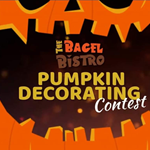 The Bagel Bistro Pumpkin Decorating Contest